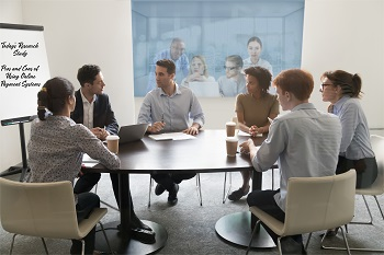 People Having Roundtable Meeting